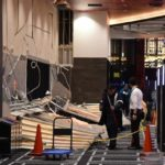 【長野】グランドオープンしたばかりのパチンコ屋「ベガス1300」の壁が突然崩壊 客4人が下敷きに
